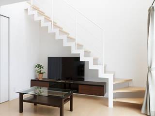 サンダー階段: LobeSquareが手掛けた階段です。,