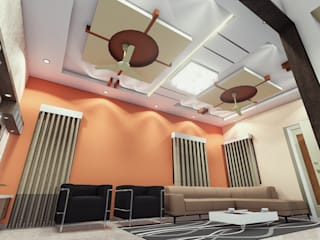 мінімалістський  by Cfolios Design And Construction Solutions Pvt Ltd, Мінімалістичний