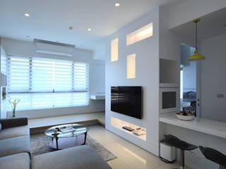 Moderne Wohnzimmer von 瓦悅設計有限公司 Modern