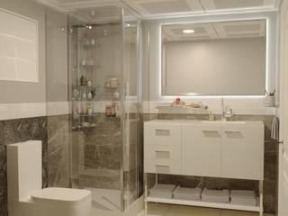 Minel Mimarlık Yapı Mühendislik İnşaat Sanayi Ticaret Limited Şirketi – Banyo: kırsal tarz tarz Banyo