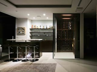 Wine cellar by JWA,Jun Watanabe & Associates, Modern