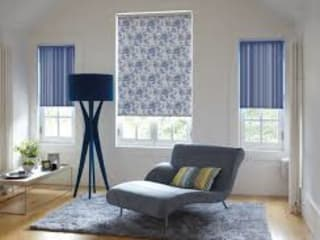 Showroom interior design concepts:   by Harvey Bruce Blinds, Shutters & Interiors