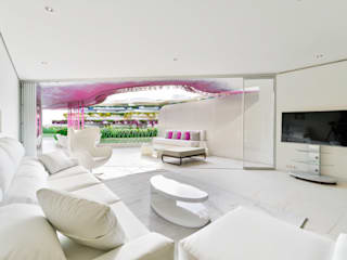 Living room: Comedores de estilo  de HTH DESIGN