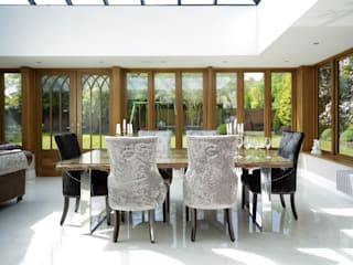 Bespoke Orangery: classic Conservatory by absolute interior design ltd