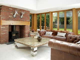 Luxury Orangery: classic Conservatory by absolute interior design ltd