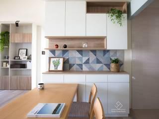 餐櫃設計 根據 極簡室內設計 Simple Design Studio 北歐風