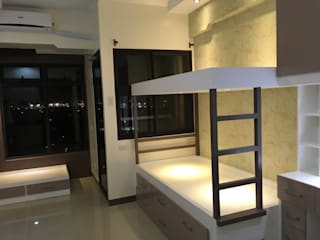 Chua's Condo Unit:  Bedroom by Yaoto Design Studio