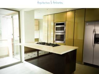 Cocina:  de estilo  por Diomo Arquitectura y Ambientes