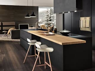 Felipe Lara & Cía Kitchen Wood Black