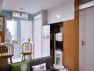 Apartemen 2BR Oleh FTN studio