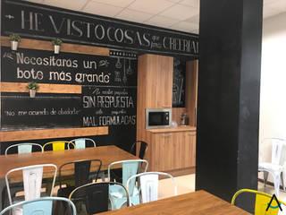 Estudi Aura, decoradores y diseñadores de interiores en Barcelona Schools Wood Black