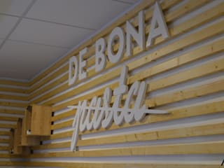 Estudi Aura, decoradores y diseñadores de interiores en Barcelona Gastronomia in stile rustico Legno