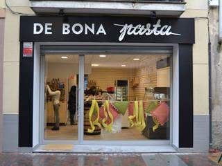Estudi Aura, decoradores y diseñadores de interiores en Barcelona Rustieke gastronomie Hout