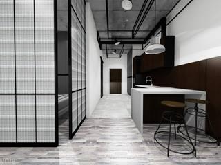 Kitchen by Projektownia Marzena Dąbrowska, Industrial