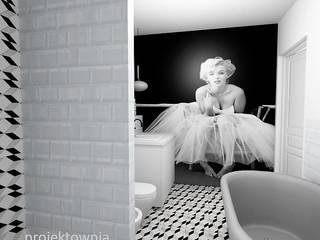 Salle de bains de style  par Projektownia Marzena Dąbrowska
