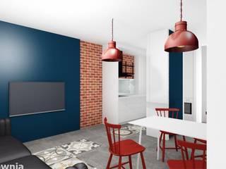 Living room by Projektownia Marzena Dąbrowska, Modern