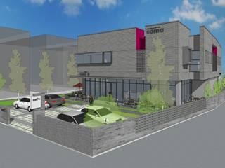 경산 정평동  근린생활시설 : 주) 창설토목건축사사무소의 현대 ,모던