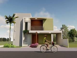 Casa AM por Renato Medeiros Arquitetura Moderno