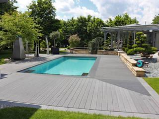 Eine Gartenanlage, verschiedene Gartenstile. RAUCH Gaten- und Landschaftsbau GbR Gartenpool