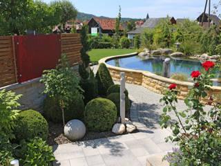 Faszination Gartenteich - modern und verspielt RAUCH Gaten- und Landschaftsbau GbR Schwimmteich