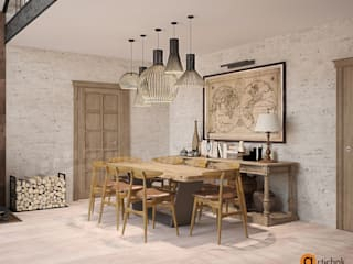 Artichok Design Country style dining room Wood Beige