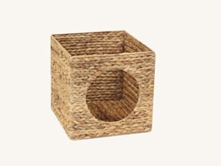 NSD New Swedish Design GmbH Living roomShelves Rattan/Wicker Wood effect