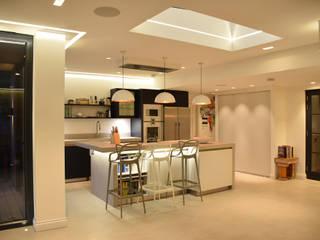 Surrey:  Kitchen by MS Lighting Design
