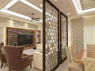ATS hamlet One, NOIDA Modern living room by Form & Function Modern