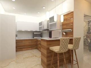 ATS hamlet One, NOIDA Modern kitchen by Form & Function Modern