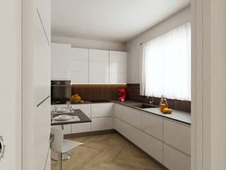 Progetto Appartamento Int12 Cucina moderna di Gentile Architetto Moderno