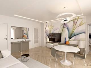 Progetto Appartamento Int12 Soggiorno moderno di Gentile Architetto Moderno