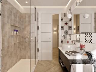 Progetto Appartamento Int12 Bagno moderno di Gentile Architetto Moderno