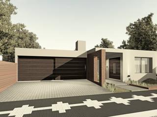 VIVIENDA UNIFAMILIAR LV - VILLA ASCASUBI de PRIGIONI Arquitectura y Diseño Moderno