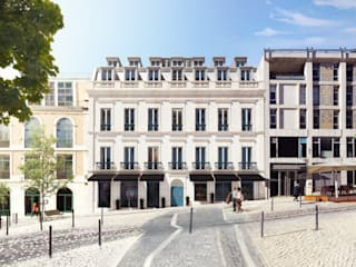 Unique Chiado: Hotéis  por VPVA - 3D/ArchViz  and Architecture,Moderno