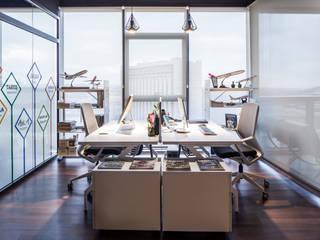 IKLIMA SENOL ARCHITECTURAL- INTERIOR DESIGN & CONSTRUCTION – Modern Ofis tasarımı:  tarz Ofis Alanları