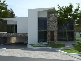 Residencia Portal del Huajuco:  de estilo  por Grupo ICMex
