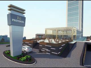 IKLIMA SENOL ARCHITECTURAL- INTERIOR DESIGN & CONSTRUCTION – PROTOKOL İŞ MERKEZİ ALTERNATİF:  tarz