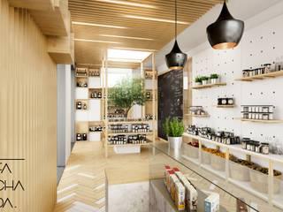 Loja Gourmet : Espaços comerciais  por Fachada Arquitectos