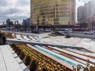 IKLIMA SENOL ARCHITECTURAL- INTERIOR DESIGN & CONSTRUCTION – PROTOKOL İŞ MERKEZİ:  tarz