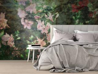 Fototapety REDRO: kwiaty: styl , w kategorii  zaprojektowany przez REDRO,