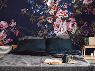 Fototapeta romantyczne kwiaty - REDRO: styl , w kategorii  zaprojektowany przez REDRO