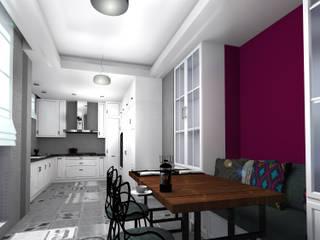 IKLIMA SENOL ARCHITECTURAL- INTERIOR DESIGN & CONSTRUCTION – K. ÖZER EVİ:  tarz