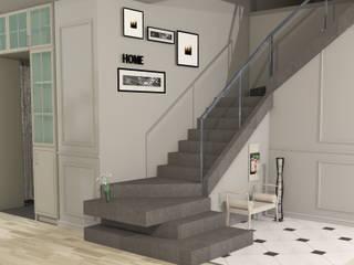 IKLIMA SENOL ARCHITECTURAL- INTERIOR DESIGN & CONSTRUCTION – B. SOYLU EVİ:  tarz