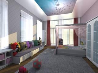 IKLIMA SENOL ARCHITECTURAL- INTERIOR DESIGN & CONSTRUCTION – S. TUNA EVİ:  tarz