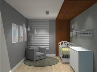 Quarto de Bebê por Ana de Oliveira Designer de Interiores Moderno
