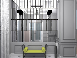 IKLIMA SENOL ARCHITECTURAL- INTERIOR DESIGN & CONSTRUCTION – İ. ASLAN EVİ:  tarz