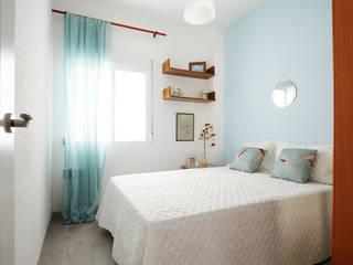 Dormitorios de estilo moderno por Noelia Villalba