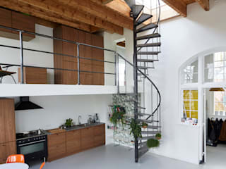 de Zelfbouwschool Scandinavische woonkamers van Atelier ARI Scandinavisch