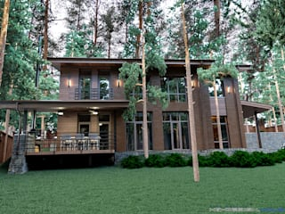 Rumah Modern Oleh hq-design Modern