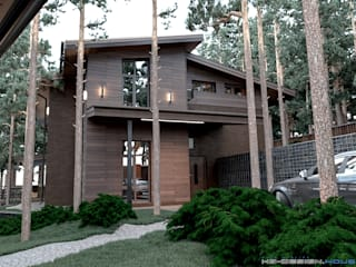Houses by hq-design, Modern